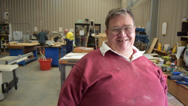 """Colin Ashworth, at the Men's Shed in Ellenbrook on Wednesday, said he just wanted people to know that """"what's put out isn't always true""""."""