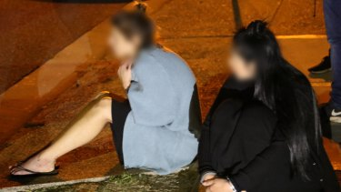 Two women are arrested after their vehicle was stopped and searched in Bondi.