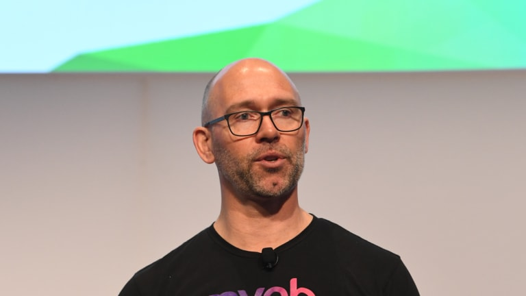 MYOB chief Tim Reed.