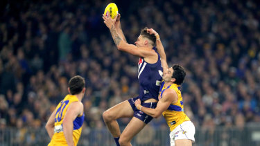 Rory Lobb has presented well for the Dockers in his first season with the club.