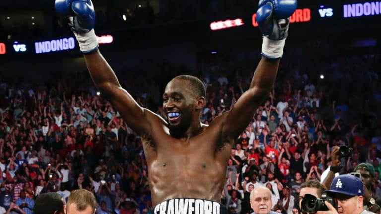 Peerless: They don't come much better than Terence 'Bud' Crawford, who fights Australia's Jeff Horn on April 14.