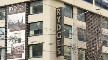 The Rydges on Swanston, the Melbourne hotel that was the source of 90 per cent of Victoria's second wave of infections.