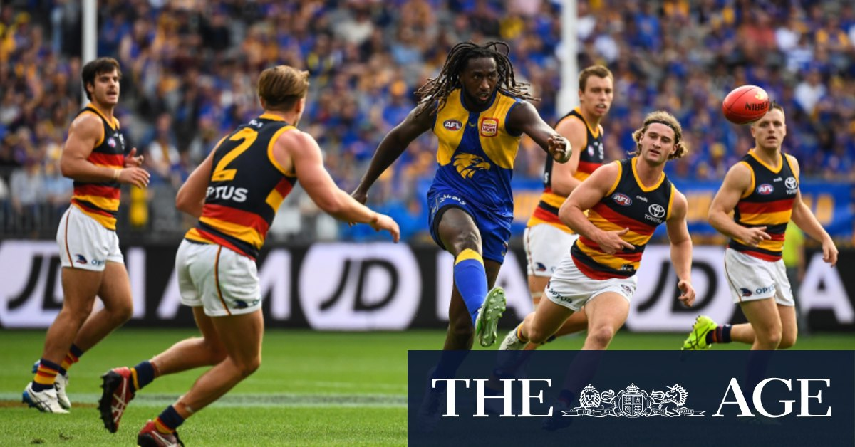 Nic Nat, Kelly fire as Eagles romp over Crows