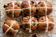Andrew McConnell's spiced hot cross?buns.