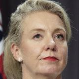 Sport Minister Bridget McKenzie.