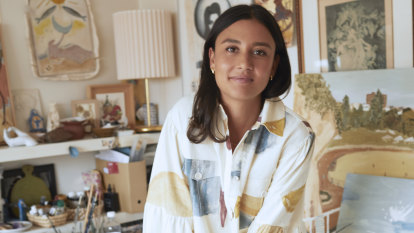 Why artist Gabrielle Penfold is living her childhood pyjama dreams