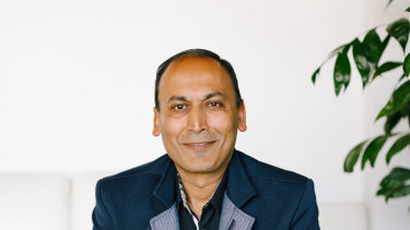 Manish Chandra, chief executive of Poshmark, is hopeful of a booming post-COVID recovery.