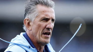 Rob Penney has had a tough start with the Waratahs.