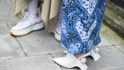 If comfort is the legacy of pandemic fashion, where do heels fit in?