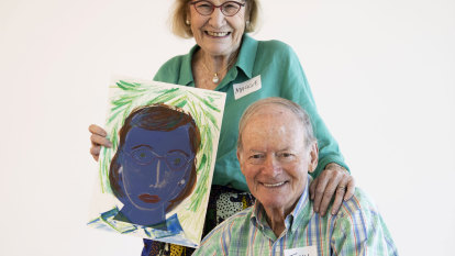 'It's the things you see': how art is helping people with dementia