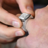 Bling fling: Robinson gives away another ring, Cronk loses his
