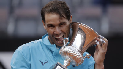 Still ruling: Imperious Nadal blows Djokovic away for ninth Rome title