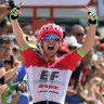 'Amazing': Australian Clarke storms to Vuelta stage win