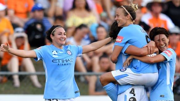 W-League: City's three-peat bid still on after semi-final win over Roar