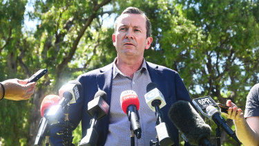 Mark McGowan is not a fan of the idea to allow for home quarantine for Australians returning from overseas.