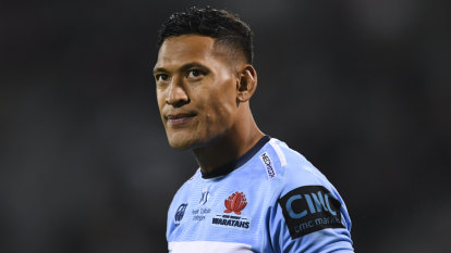 'We'd love to have him': Tonga opens door for Israel Folau as brother vies for Cup squad