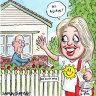 CBD Melbourne: Chloe Shorten swaps politics for the picket fence
