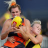 'A shining comet': Tributes flow after death of GWS player Jacinda Barclay