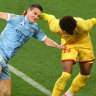 Melbourne City close on Premiers Plate after 4-1 win over Adelaide