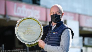Moonee Valley Racing Club CEO Michael Browell.