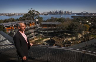Taronga Zoo's CEO Cameron Kerr gives a sneak preview into the soon to open retreat that hosts stunning views of Sydney Harbour.