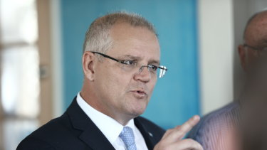 "Campaigning in Cairns, Scott Morrison called Bob Hawke a ""unifier of enormous intellectual capacity""."