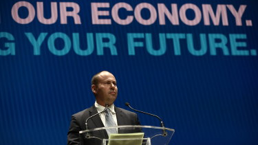 Treasurer Josh Frydenberg said there were positive signs for wages in some sectors such as education and health.