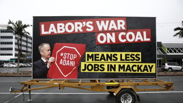 Labor's political opponents seized on the Adani issue throughout the campaign.