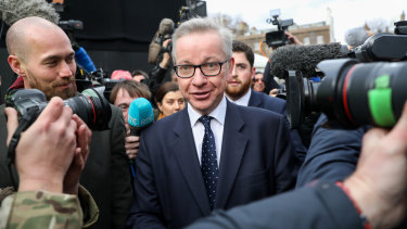Michael Gove, UK Environment Secretary.