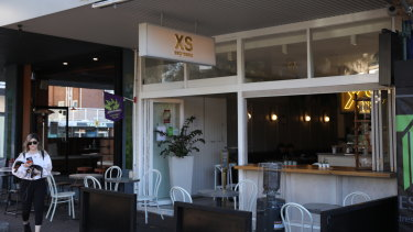 XS Espresso cafe in Bondi where a barista was allegedly let go because of his skin colour.
