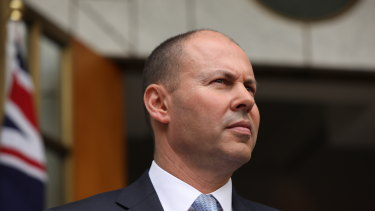 Surging iron ore prices have given Treasurer Josh Frydenberg the money to keep spending taps open for a while yet.