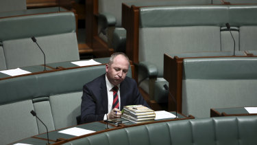 Barnaby Joyce's dramas contributed to a turbulent year for the Coalition.