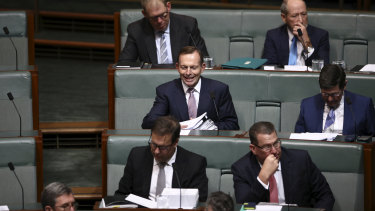 Abbott in QT today.