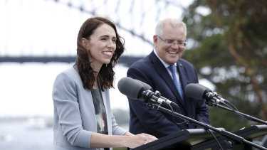 Trans-Tasman travel will be on the agenda when Jacinda Ardern joins Scott Morrison and the national cabinet on Tuesday.