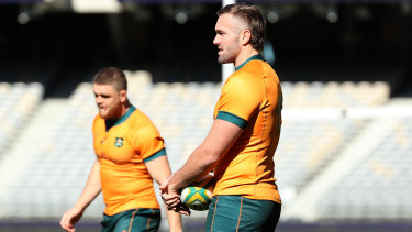 Rodda's last game for the Wallabies was at the 2019 World Cup.