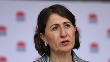 NSW Premier Gladys Berejiklian has had  a tough year and faces internal instability in her coalition.