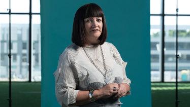 Former Rugby Australia chief executive Raelene Castle.