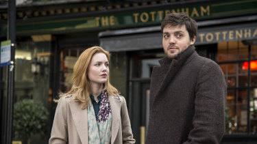 Tom Burke and Holliday Grainger as Cormoran Strike and Robin Ellacott in the small-screen adaptation of Robert Galbraith's crime novels.