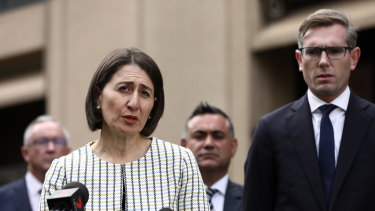 Premier Gladys Berejiklian and Treasurer Dominic Perrottet say NSW will spend whatever it takes to save lives.