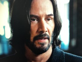 Keanu Reeves as Neo in The Matrix Resurrections.