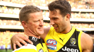 Tigers coach Damien Hardwick says he will back in Alex Rance if the 31-year-old wants to make a comeback to football.