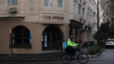 The Apollo restaurant in Potts Point.