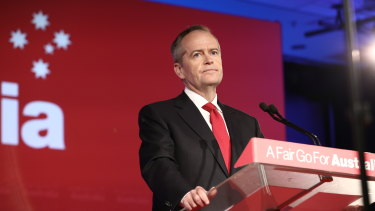 Labor leader Bill Shorten is two weeks away from the election.