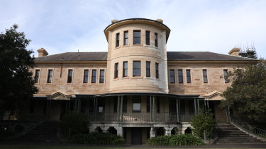 The NSW government is asking for expressions of interest for the historic Kirkbride complex in Callan Park.