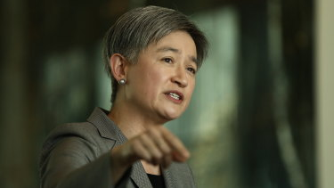 Penny Wong says federal Labor does not support Daniel Andrews' BRI MoU with Beijing.