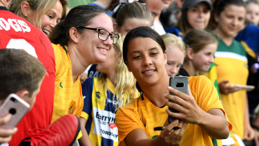 The Matildas have proven very popular after their many successes.