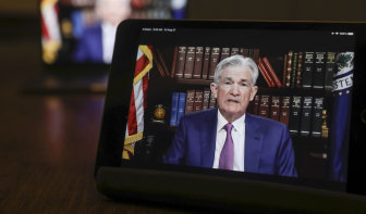 Jerome Powell's signalled the Fed's tapering of bond purchases could start as soon as November.
