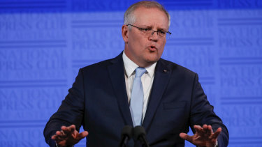 Prime Minister Scott Morrison wants to see businesses survive and invest out of the recession.