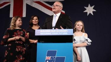 Scott Morrison declares victory