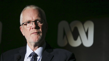 ABC chairman Justin Milne is under real pressure and may not survive.